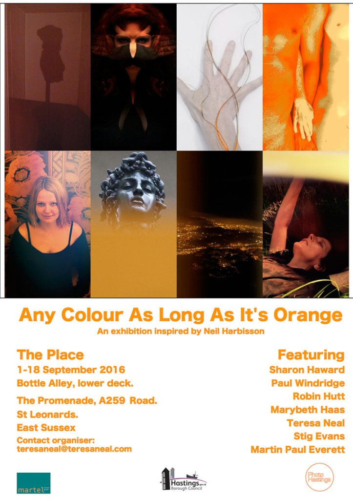 anycolourflyer montage of work